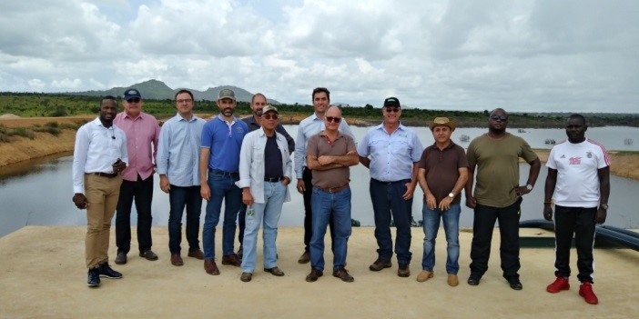 ADC tour group at a dam inspection