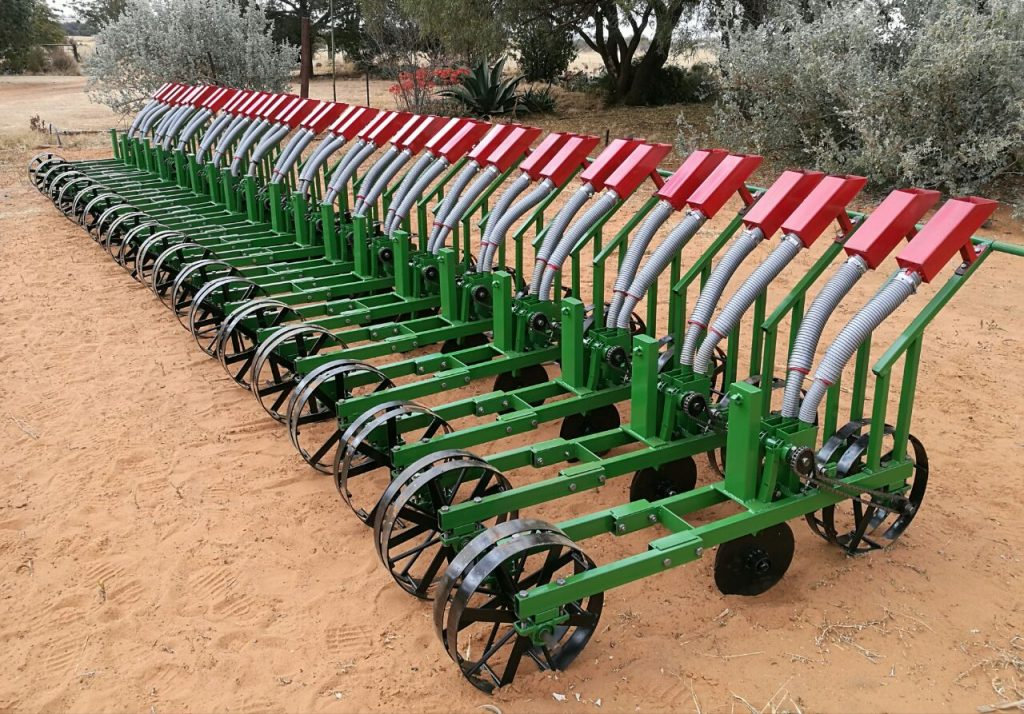 Smart tools for African Farmers by Backsaver lined up for use