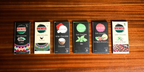 A selection of Say It With Chocolate's products.