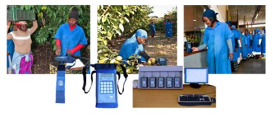 TMS System use various electronic products