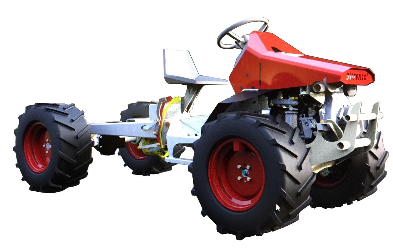 Erreppi tractor created for farming