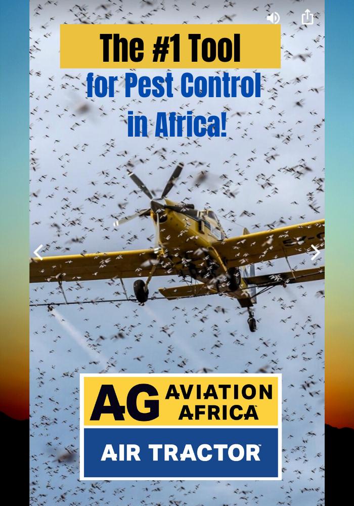 AirTractor Locust Control