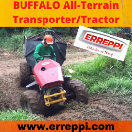 The BUFFALO Tractor from Erreppi!